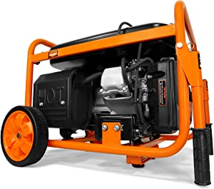 WEN 56500 Portable Generator with Wheel Kit