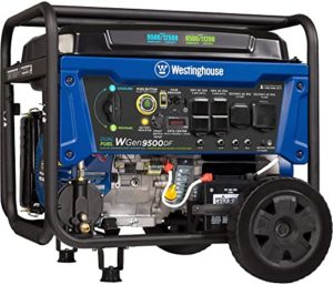 Westinghouse WGen9500DF Portable Generator with Dual Tank