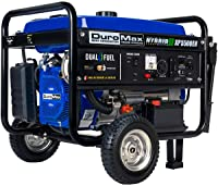 DuroMax XP5500EH 7.5 HP Portable Dual Fuel Generator