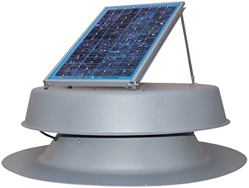 Solar Attic Fan by Natural Light with 25 Years Warranty