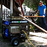 DuroMax XP10000E Portable Gas Powered Engine with Electric Start Option