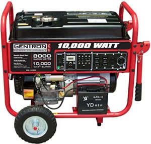 Gentron GG10020C Portable Generator with Electric Push Start