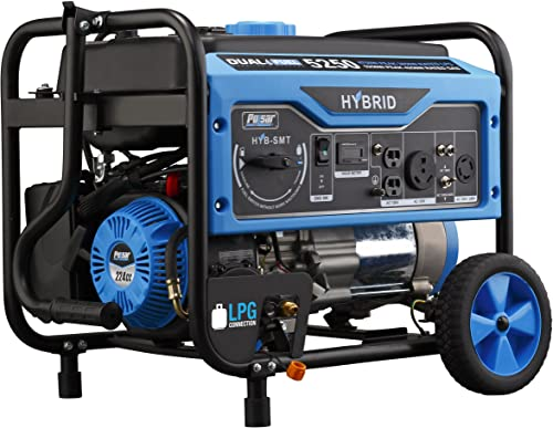 Pulsar Dual Fuel Portable Generator with Switch and Go Technology