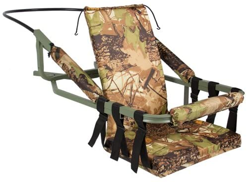 Best Choice Products Hunting Deer Bow Game Hunt Portable Tree Stand Climber with Harness