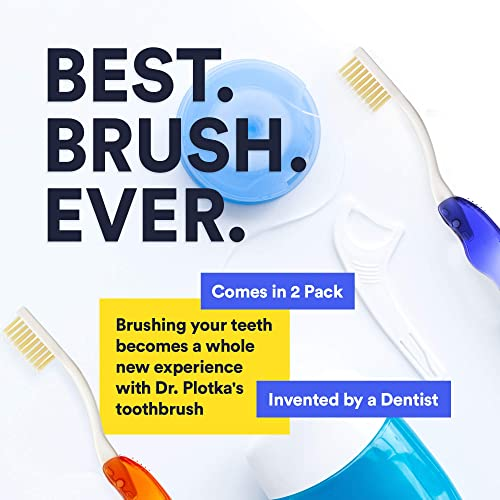 MouthWatachers Dr. Plotka's Antimicrobial Folding Travel Toothbrush