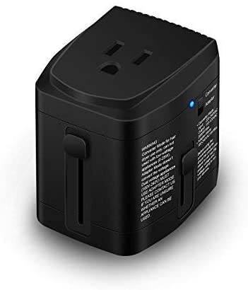Bonazza All in One Travel Power Adapter 2000 Watts Converter Step Down