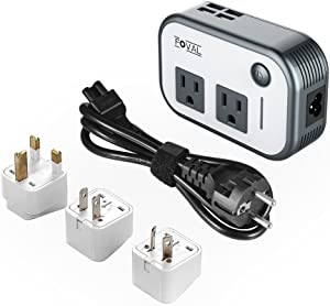 Foval Step-Down Voltage Converter with 4 x USB Ports