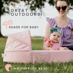 Lulyboo On The Go Baby Bassinet