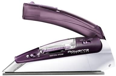 Rowenta Travel Ready 1000 Watts Stainless Steel Plate Iron
