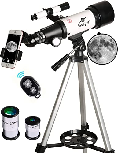 Gskyer 70mm Aperture Travel Telescope with carrying Bag