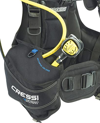 Cressi Start Jacket Style Travel BCD for Scuba Diving