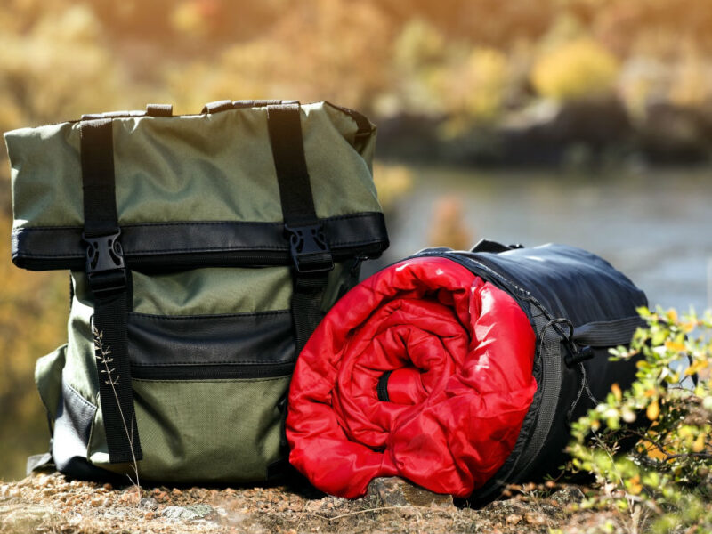 How to Carry Sleeping Bag on a Backpack