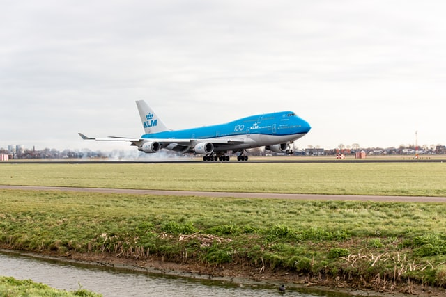 Traveling through KLM Royal Dutch Airlines